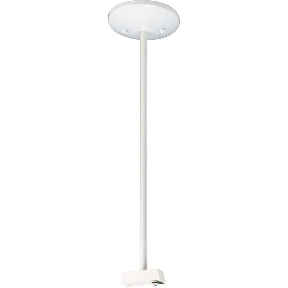 Accessoires d'éclairage Glomar à  ampoules avec , Fini blanc