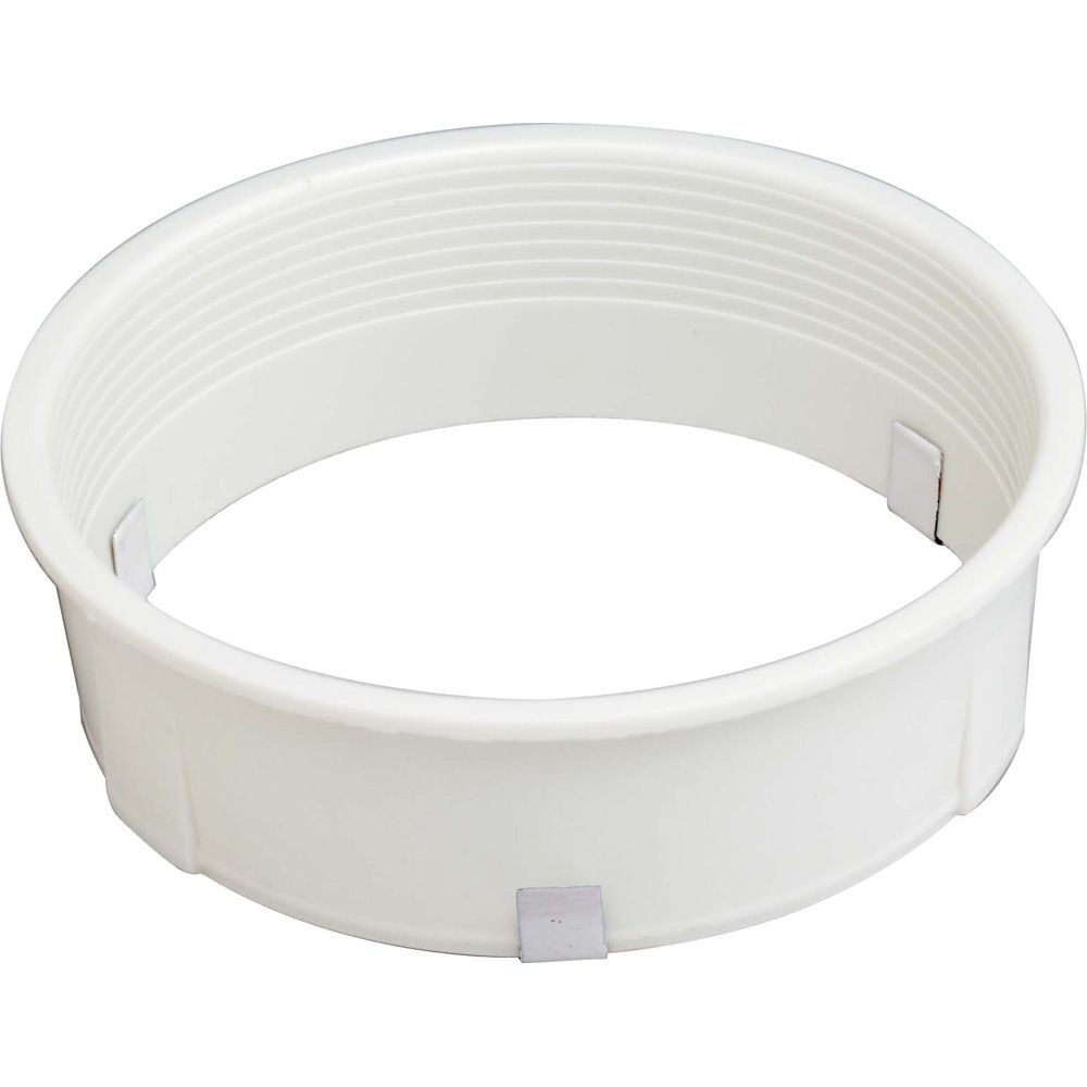 R20  White Baffle Finished in White