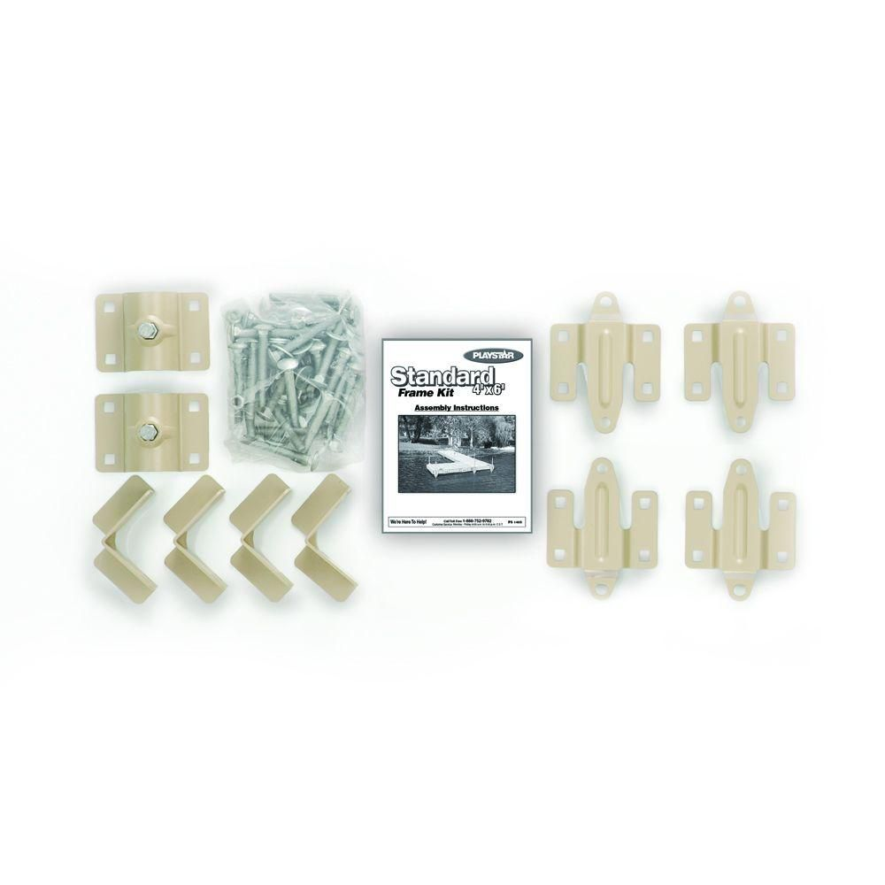 4 ft. x 6 ft. Standard Dock Frame Kit