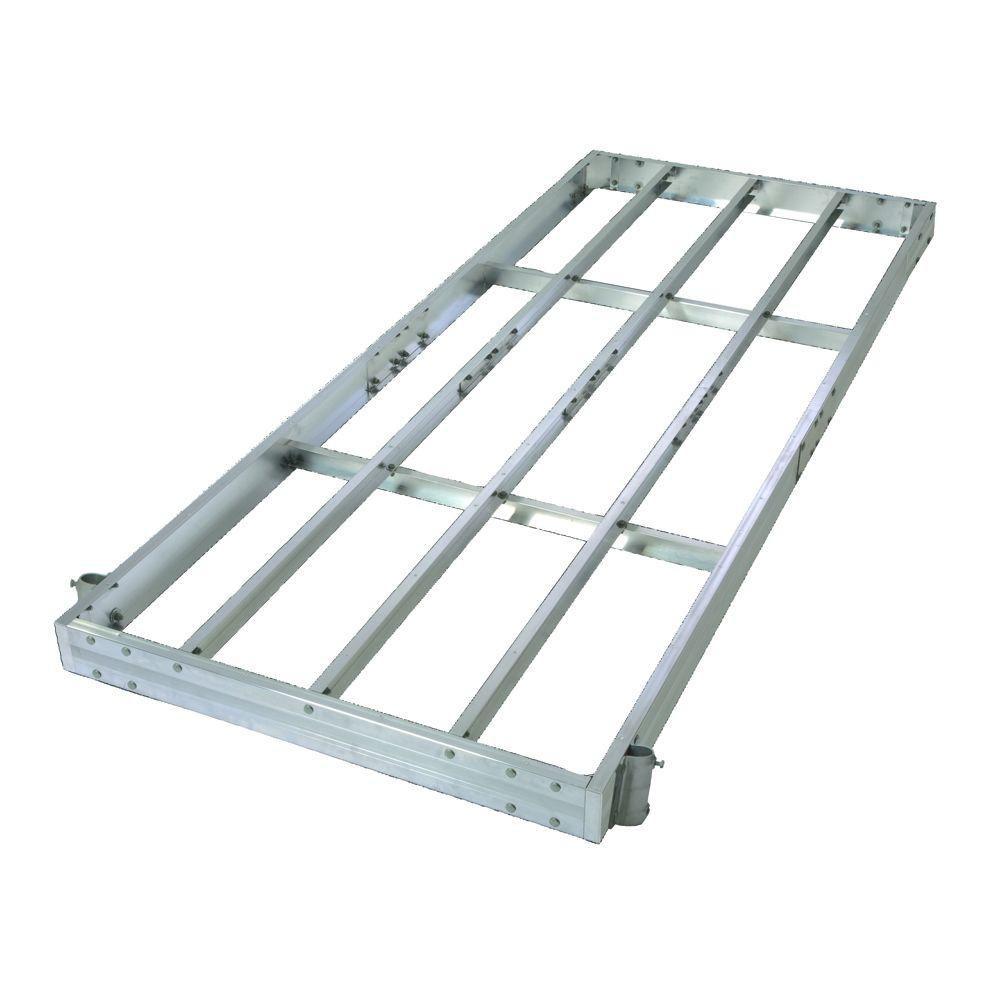 Charpente de quai  en aluminium prêt-à-monter