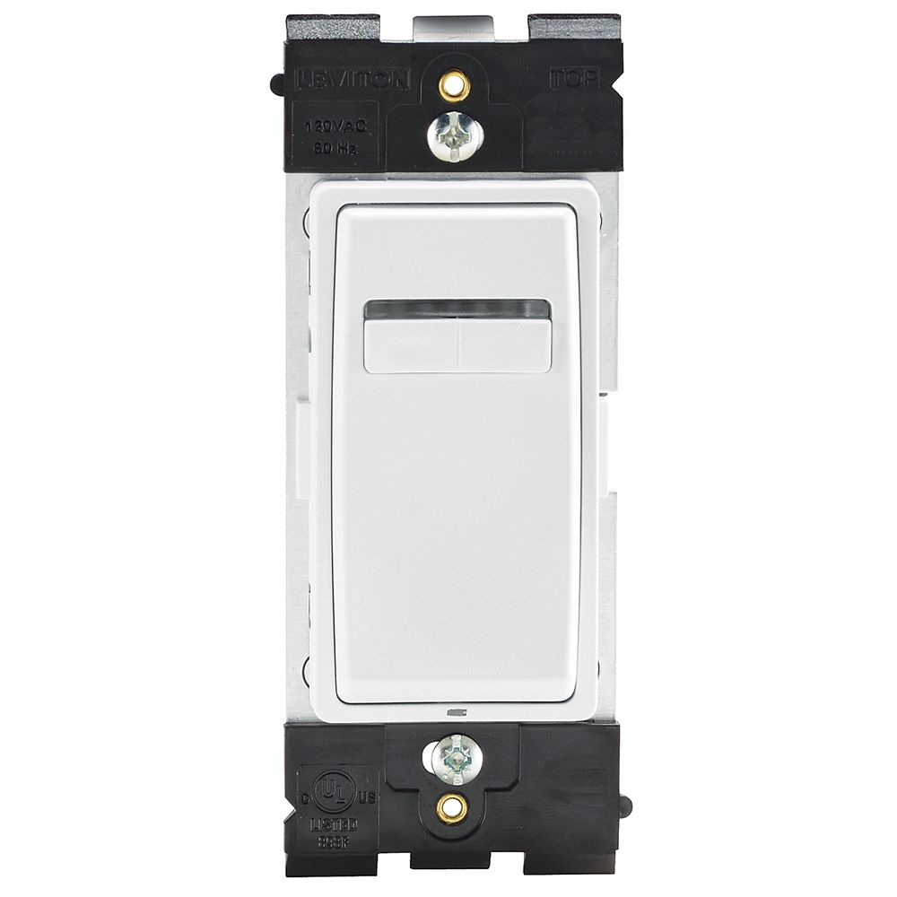 Leviton Digital Dimmer (Wallplate not Included) in White