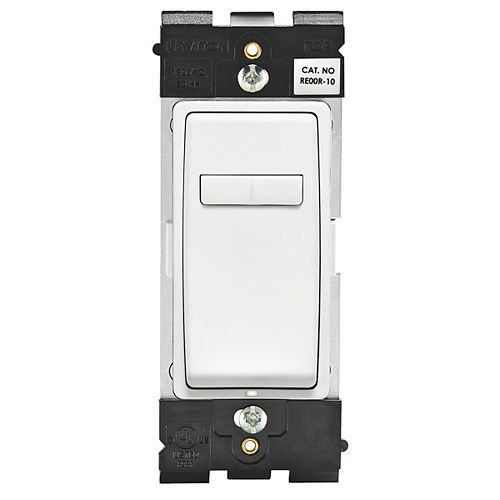 Leviton Coordinating Dimmer Remote (Wallplate not Included) in White