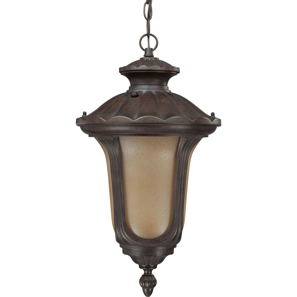 Beaumont Fruitwood 1-Light Hanging Lantern  (1) 18 watt  Bulb Included