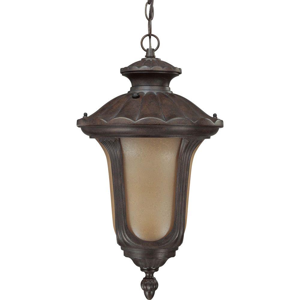 Beaumont Fruitwood 1-Light Hanging Lantern  (1) 18 watt  Bulb Included