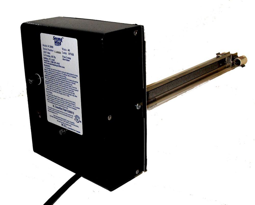 Système 5.0t CVC Purificateur Ultraviolet avec le Controle des Odeurs