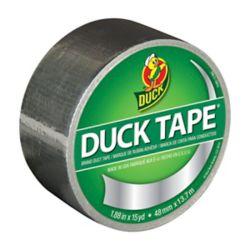 Duck Ruban adhésif de marque Color Duct Tape - Chrome 4,8cm x 13,7m (1,88po x 15v)