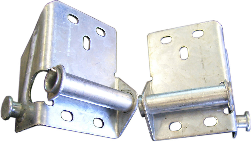 Galvanized Steel Right and Left Bottom Brackets for Garage Door