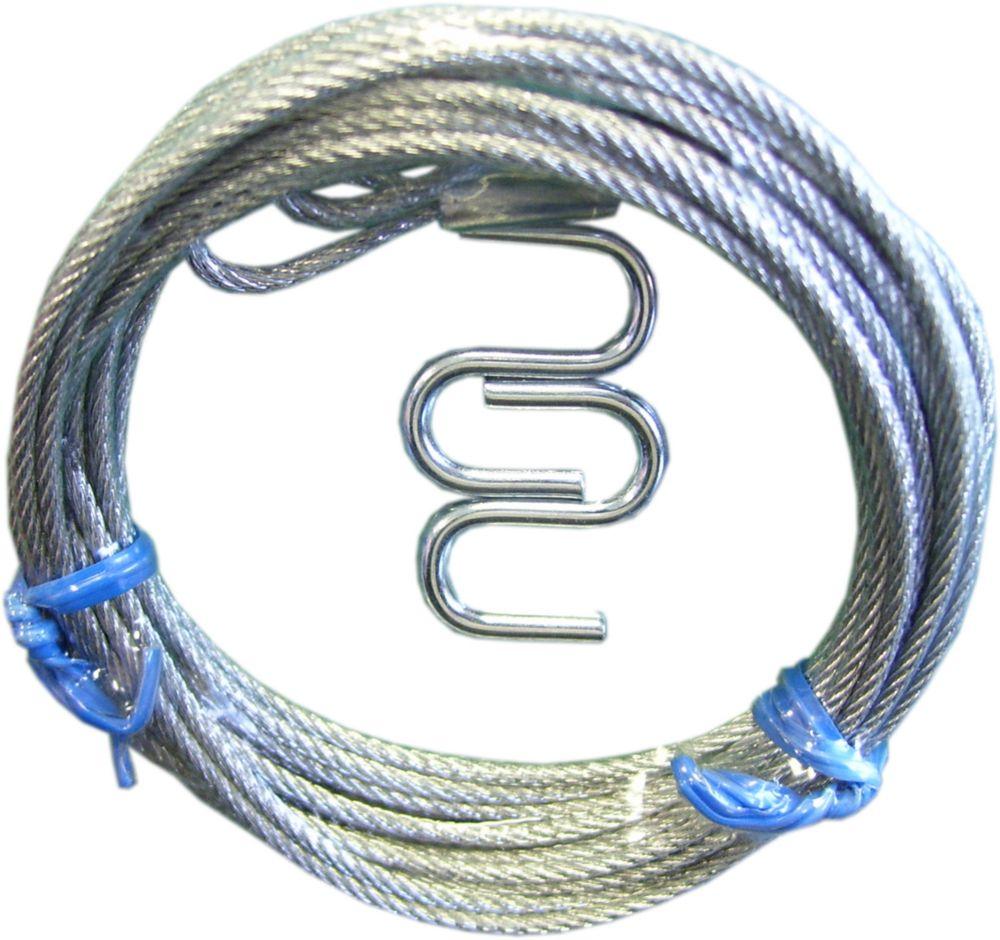 6 ft. Galvanized Steel Latch Cable for Garage Door (2 Pack)