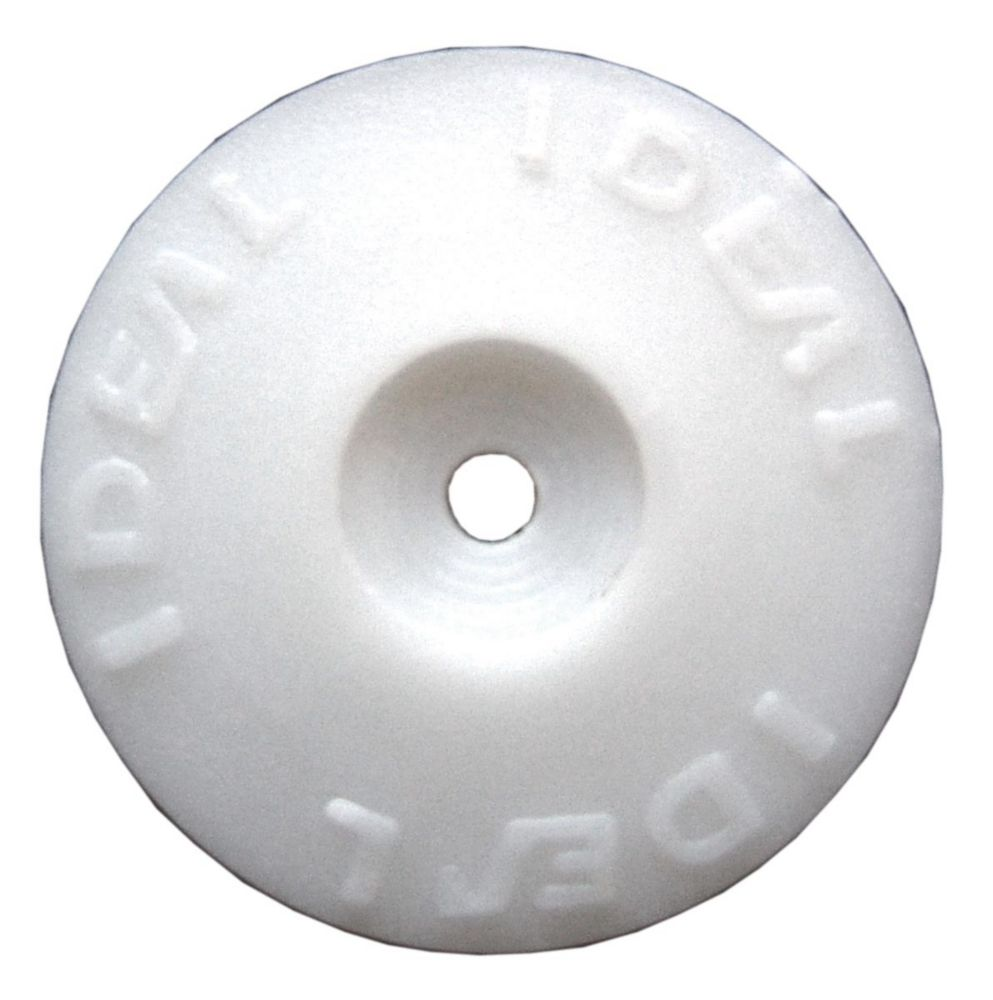 Ideal Security White  Plastic Cap Washers (500 Pack)
