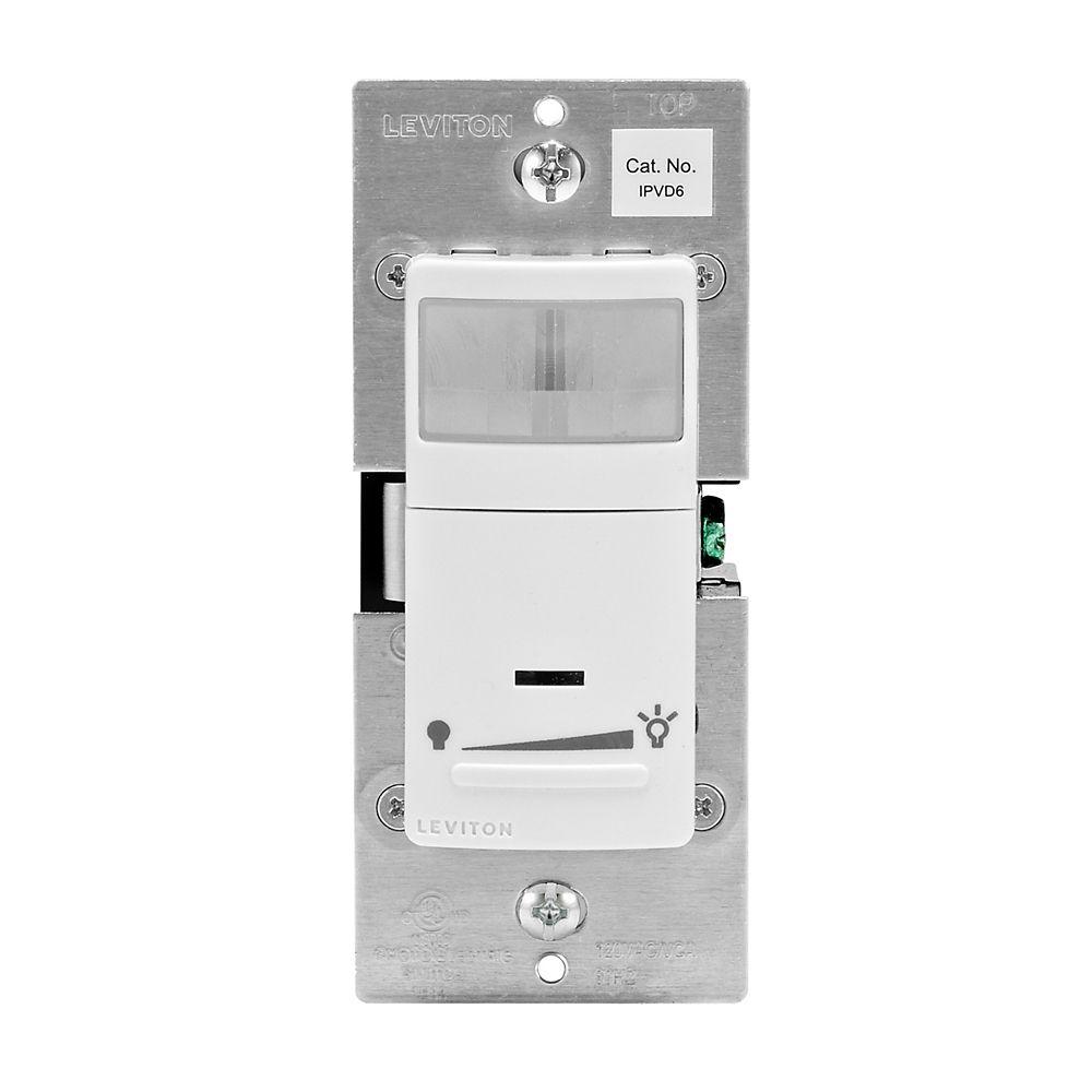 Leviton - Decora IllumaTech universal occupancy/motion detector and dimmer