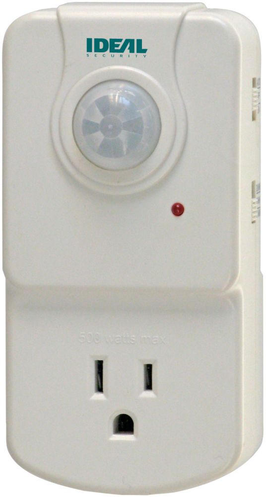 Smart Motion Activated Electrical Outlet