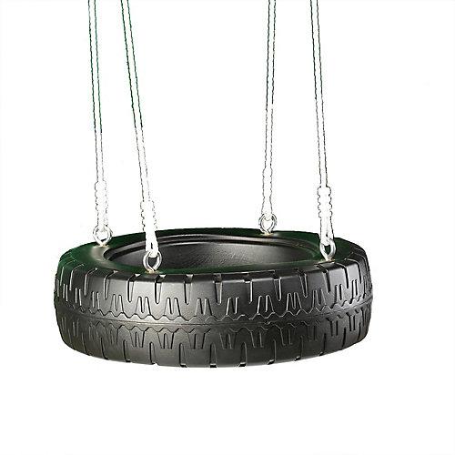 Balançoire en pneu
