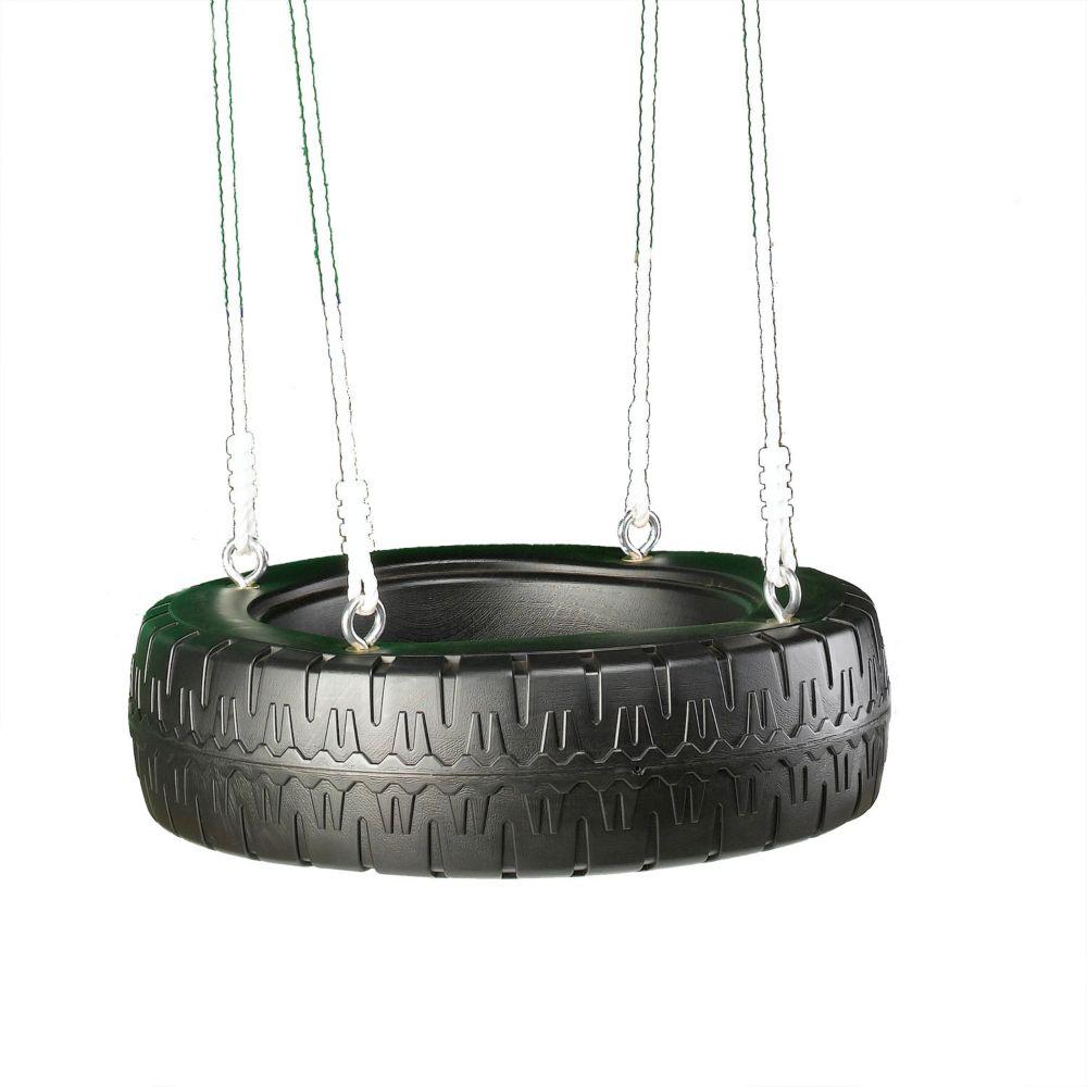 Swing-N-Slide Tire Swing with Rope