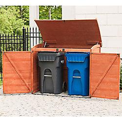 Leisure Season Remise pour rangement horizontal pour déchets