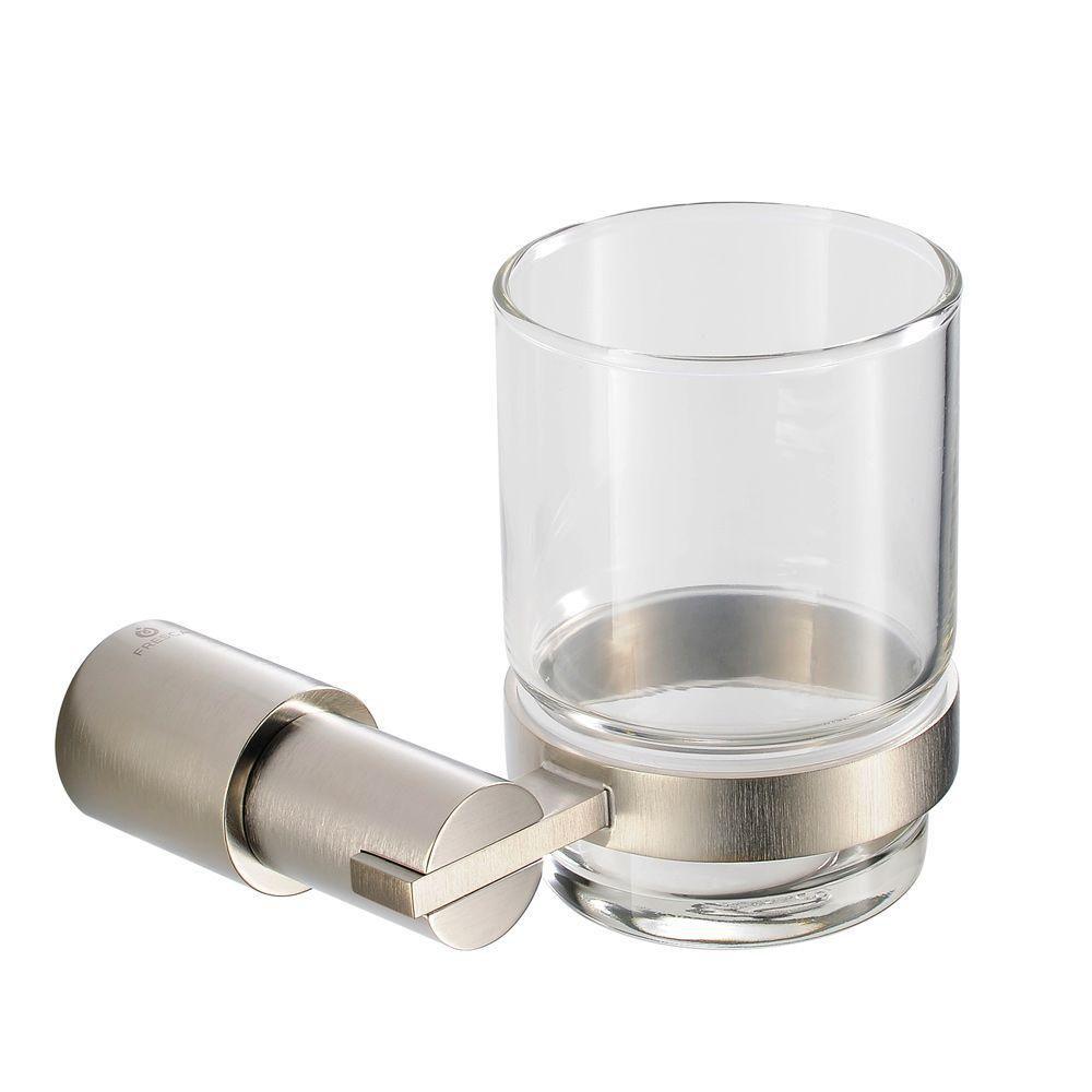 Magnifico Porte-verre - Nickel brossé