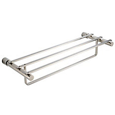 Magnifico 23 Inch Towel Rack - Brushed Nickel