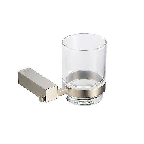 Ottimo Tumbler Holder - Brushed Nickel