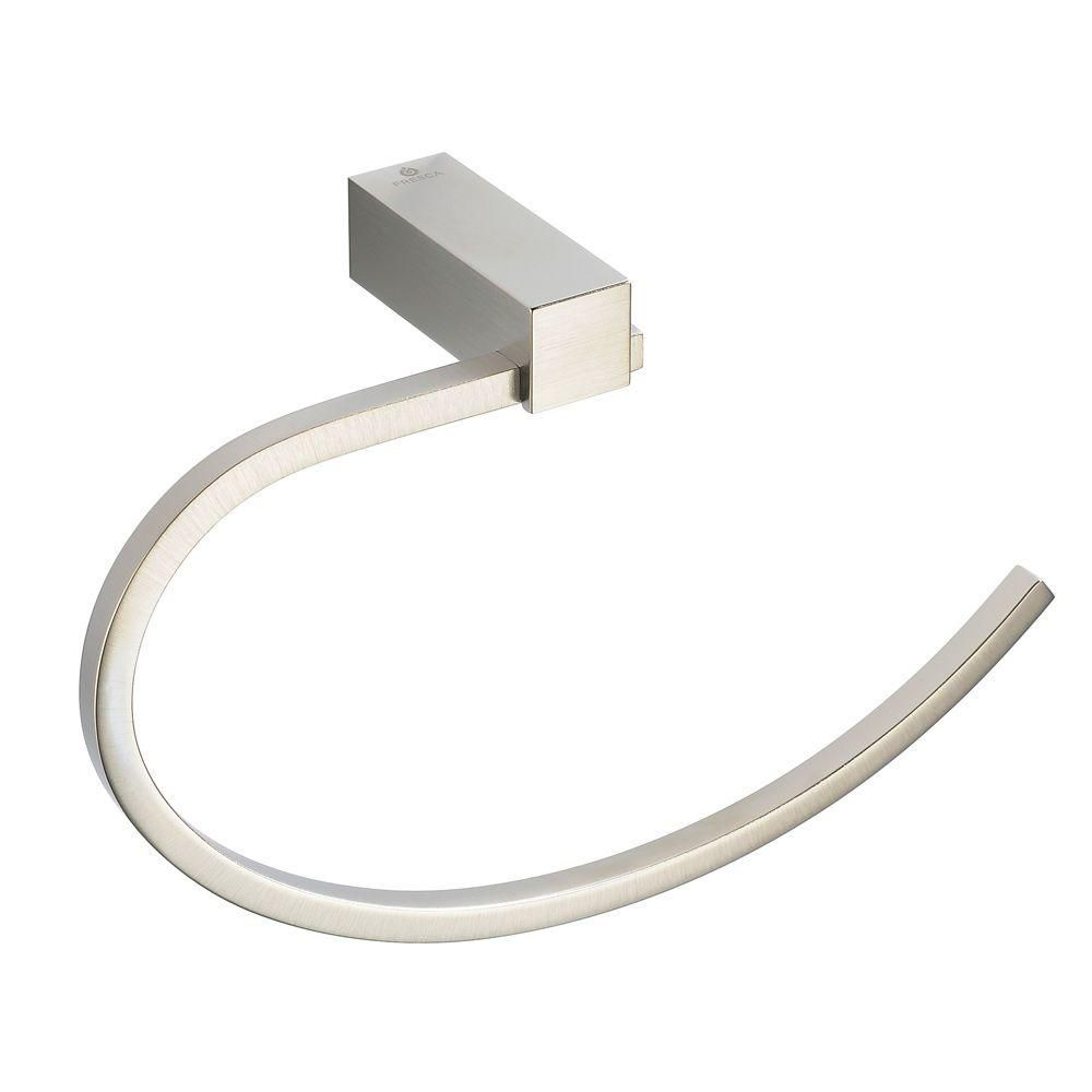 Ottimo Towel Ring - Brushed Nickel
