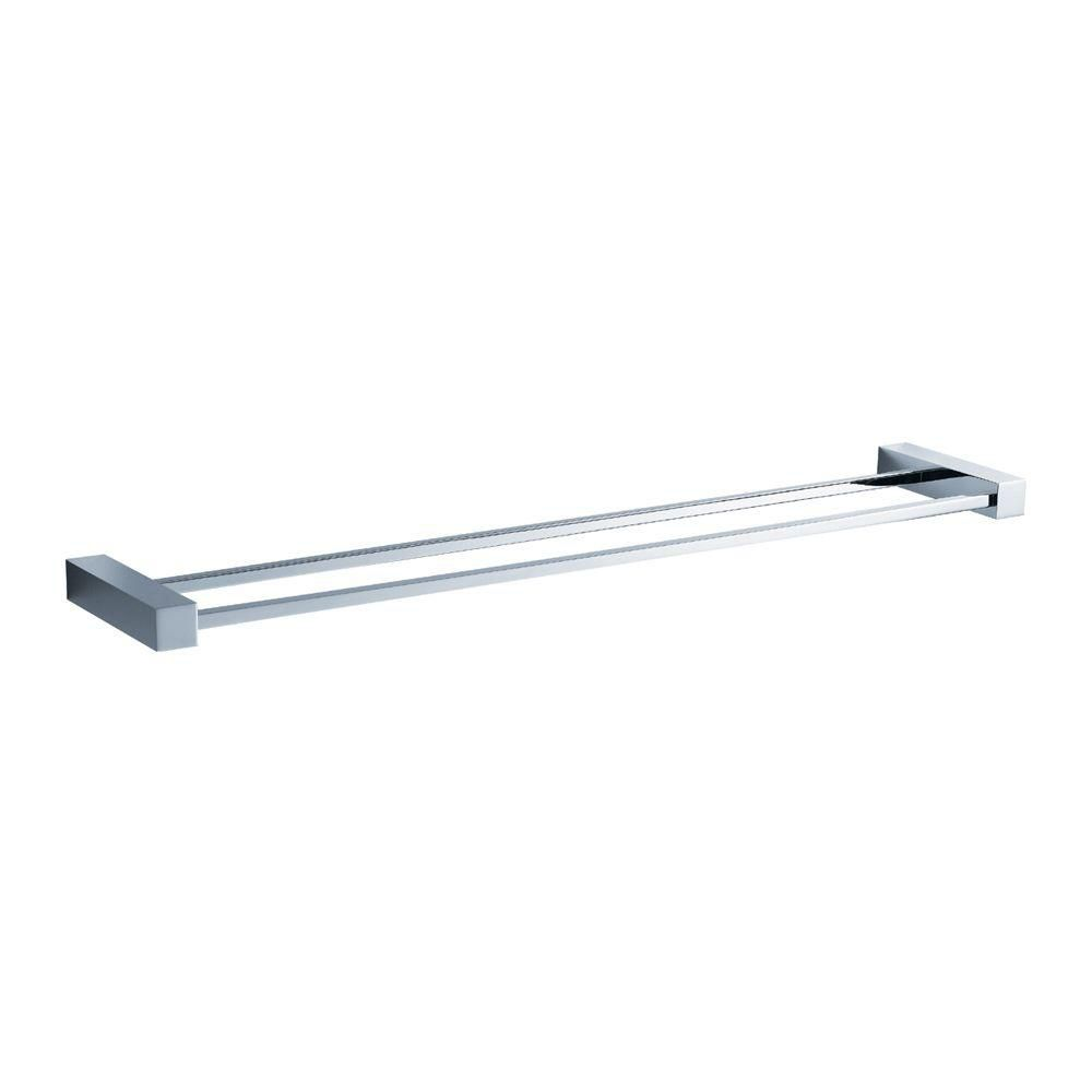 Ottimo 26 Inch Double Towel Bar - Chrome