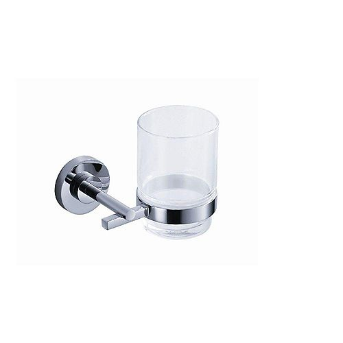 Fresca Alzato Wall-Mounted Tumbler Holder in Chrome
