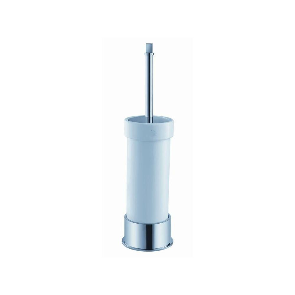 Fresca Glorioso Ceramic Toilet Brush/Holder in Chrome