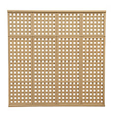 78.5 inch x 77.5 inch 4 High Privacy Lattice Panel