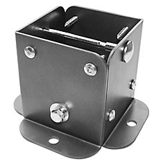 4 inch x 4 inch Post Base (4-Pack)