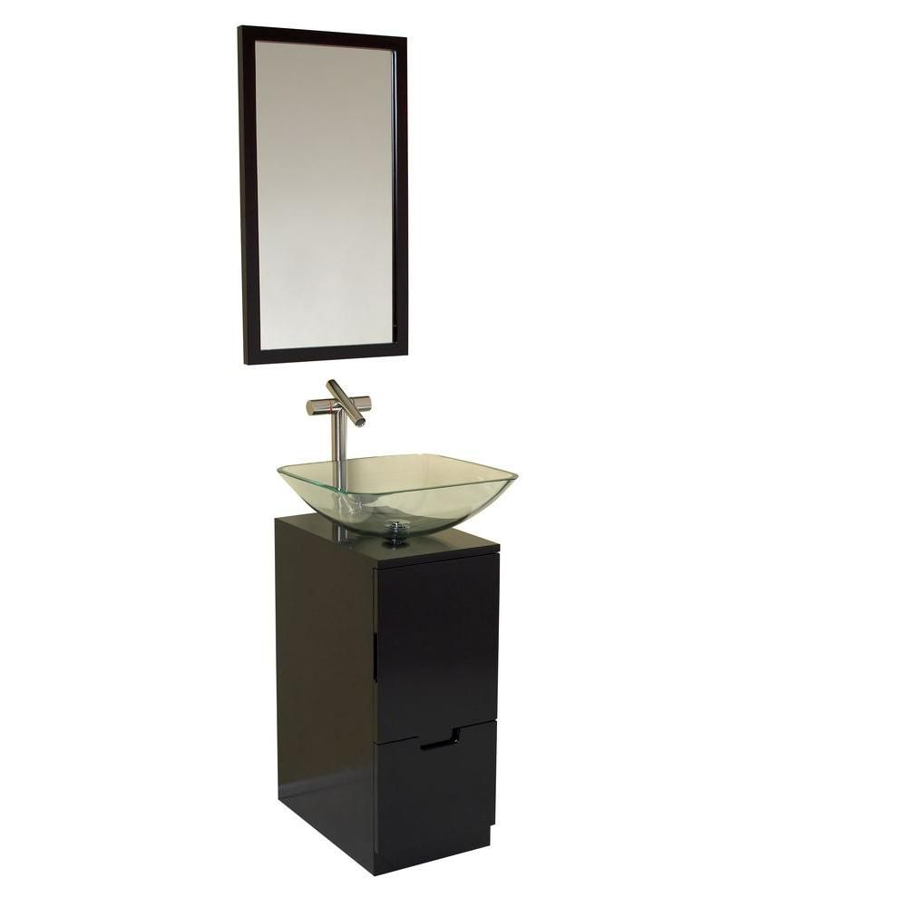 fresca brilliante meuble lavabo de salle de bains moderne. Black Bedroom Furniture Sets. Home Design Ideas