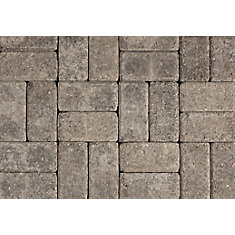 Tumbled Oldstone Natural/Charcoal Pavers