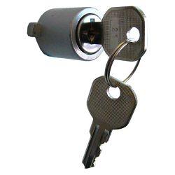 Ideal Security Serrure pour Loquet à Poussoir