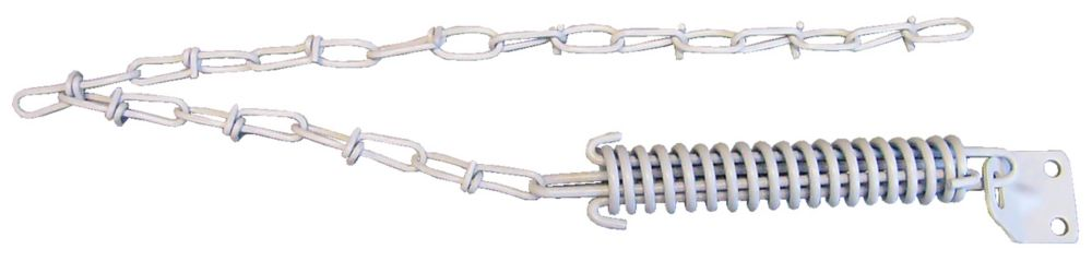 White Storm Door Chain