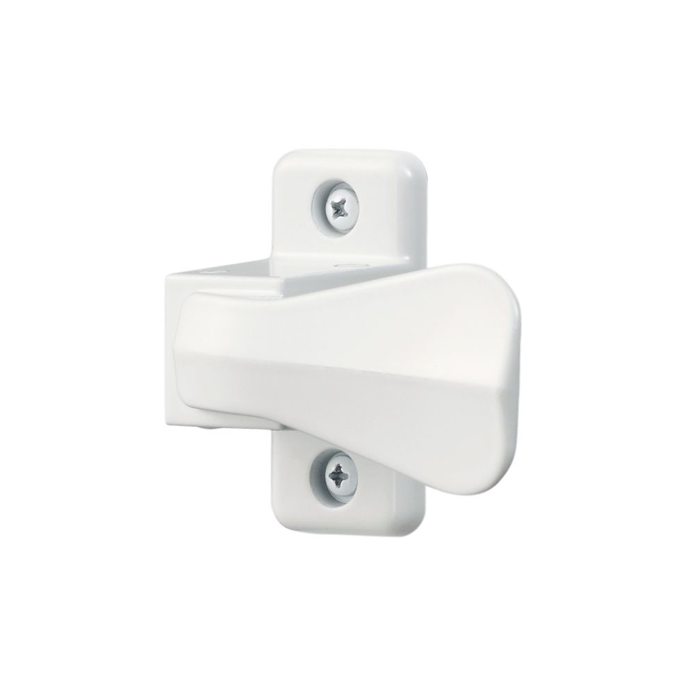 White Universal Replacement Storm Door Latch