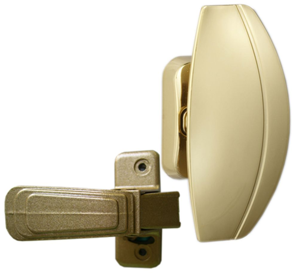 Premium Brass HP Storm Door Handle Set