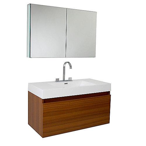 meuble salle de bain home depot
