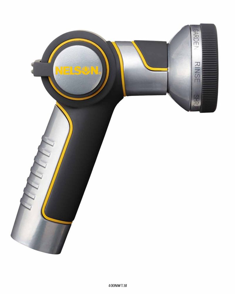 Nelson Stainless Steal Thumb Trigger Watering Nozzle