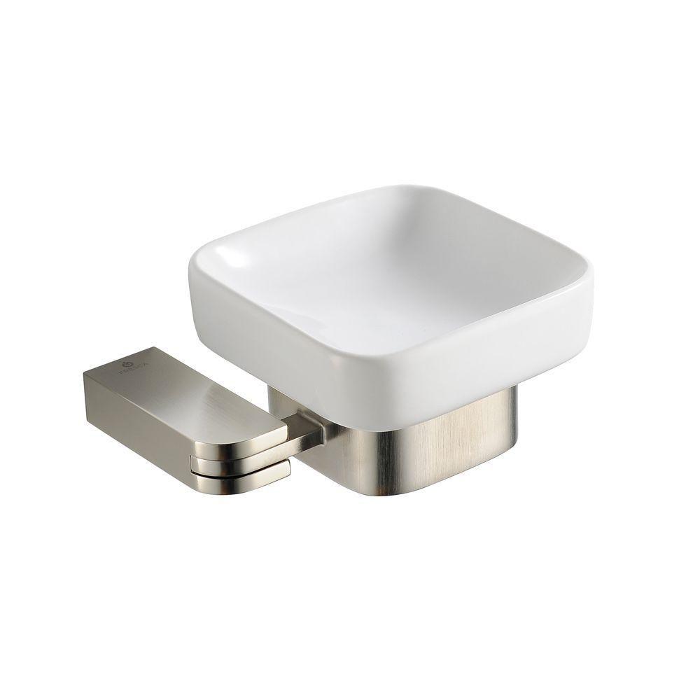 Solido Porte-savon - Nickel brossé