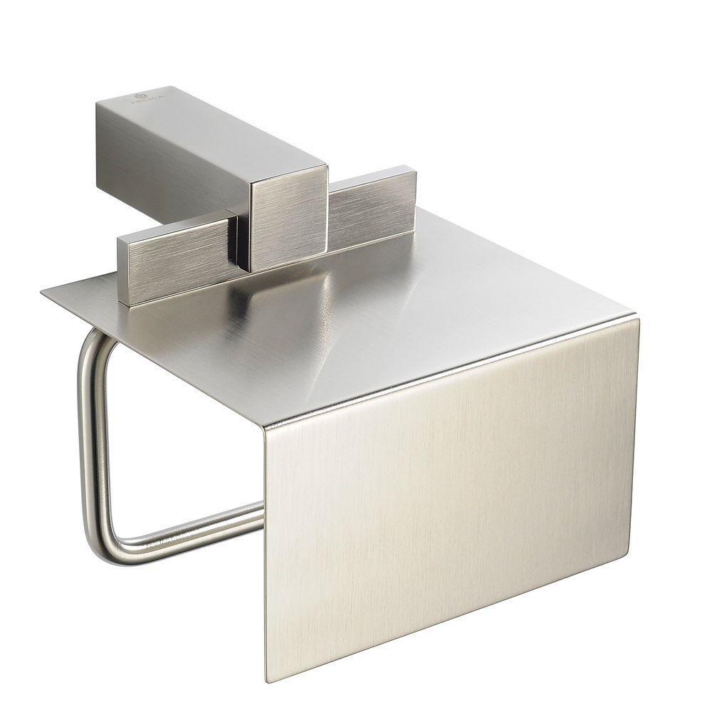 Ellite Toilet Paper Holder - Brushed Nickel