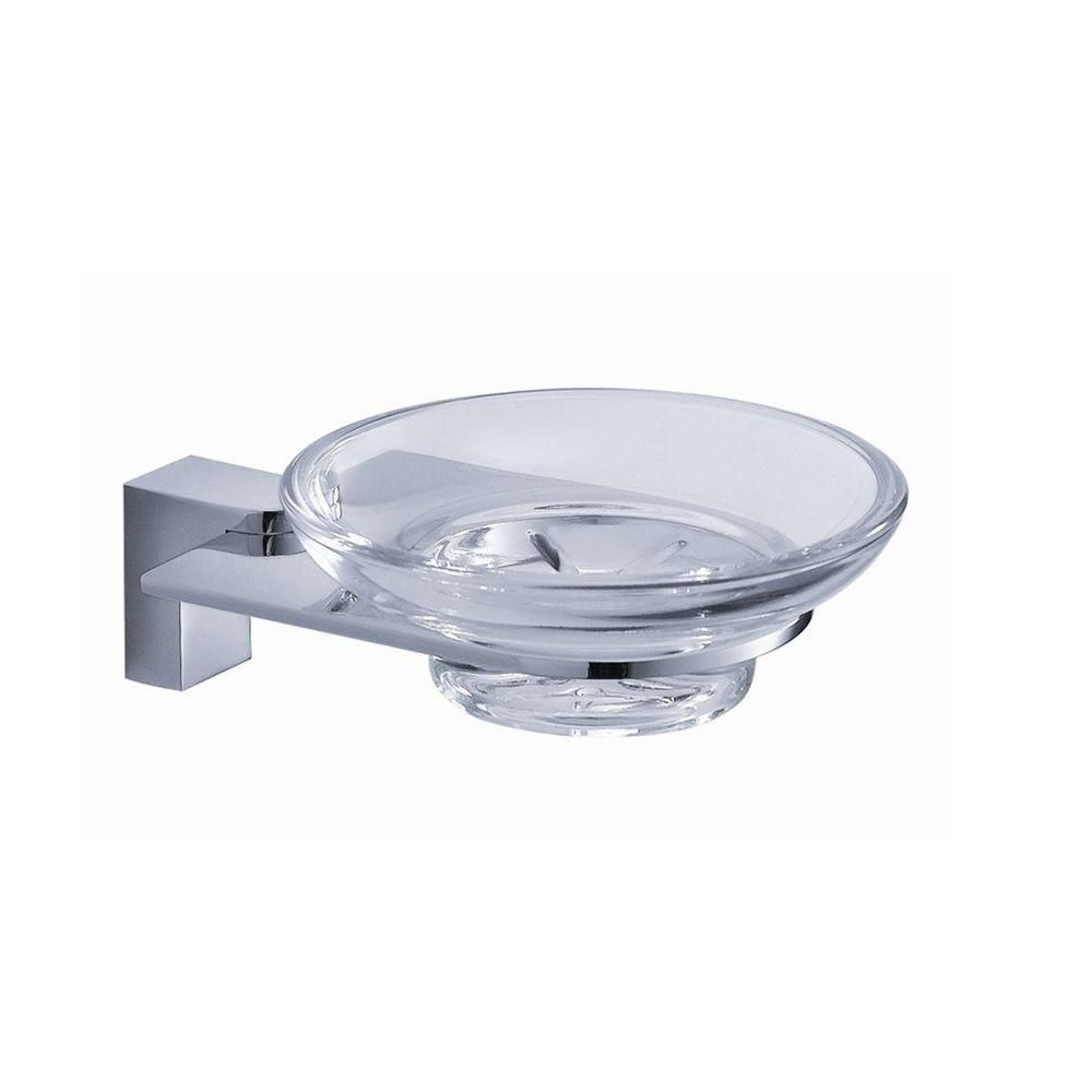 Generoso Soap Dish - Chrome