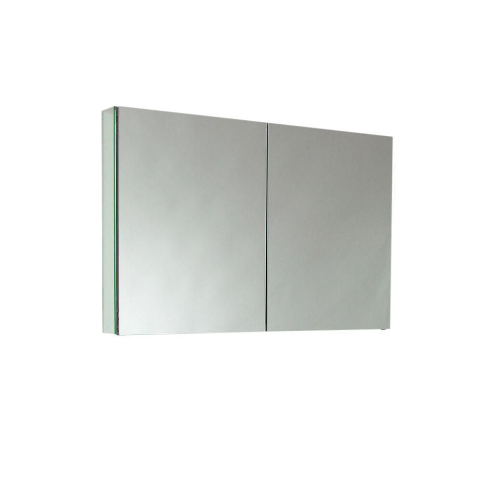 40 Inch Wide Bathroom Medicine Cabinet With Mirrors