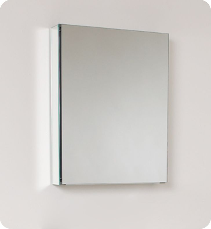 fresca 20 inch wide bathroom medicine cabinet with mirrors the home
