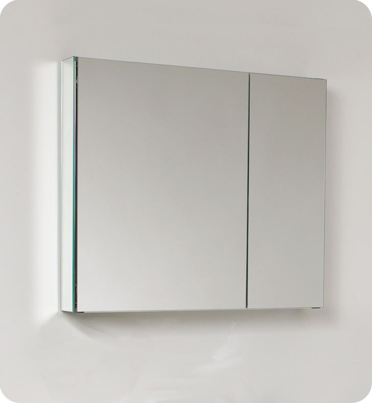 30 Inch W Bathroom Medicine Cabinet With Mirrors
