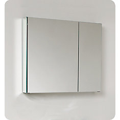 30-inch W Bathroom Medicine Cabinet with Mirrors
