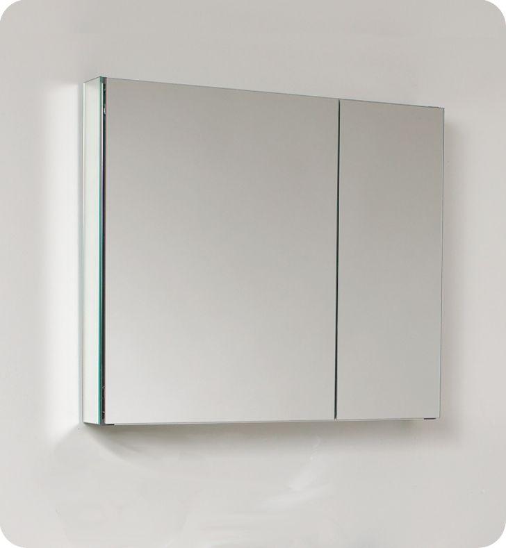 30 Inch Wide Bathroom Medicine Cabinet With Mirrors