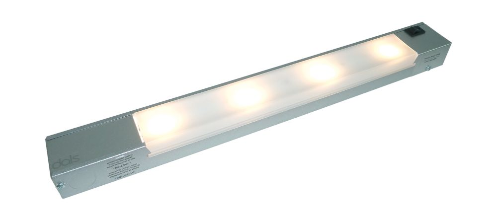 4 Light LED Linear Dimmable - Satin Painted