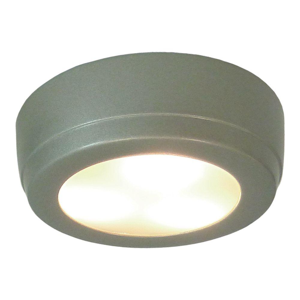 Illume 2W LED Plastic Puck  - Satin Painted