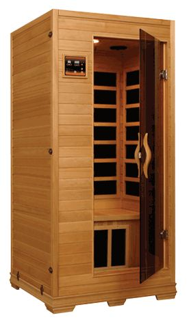 Better Life 6109- 1 -2 Person Infrared Sauna with Chromotherapy, MP3 CD Stereo and 2 Speakers