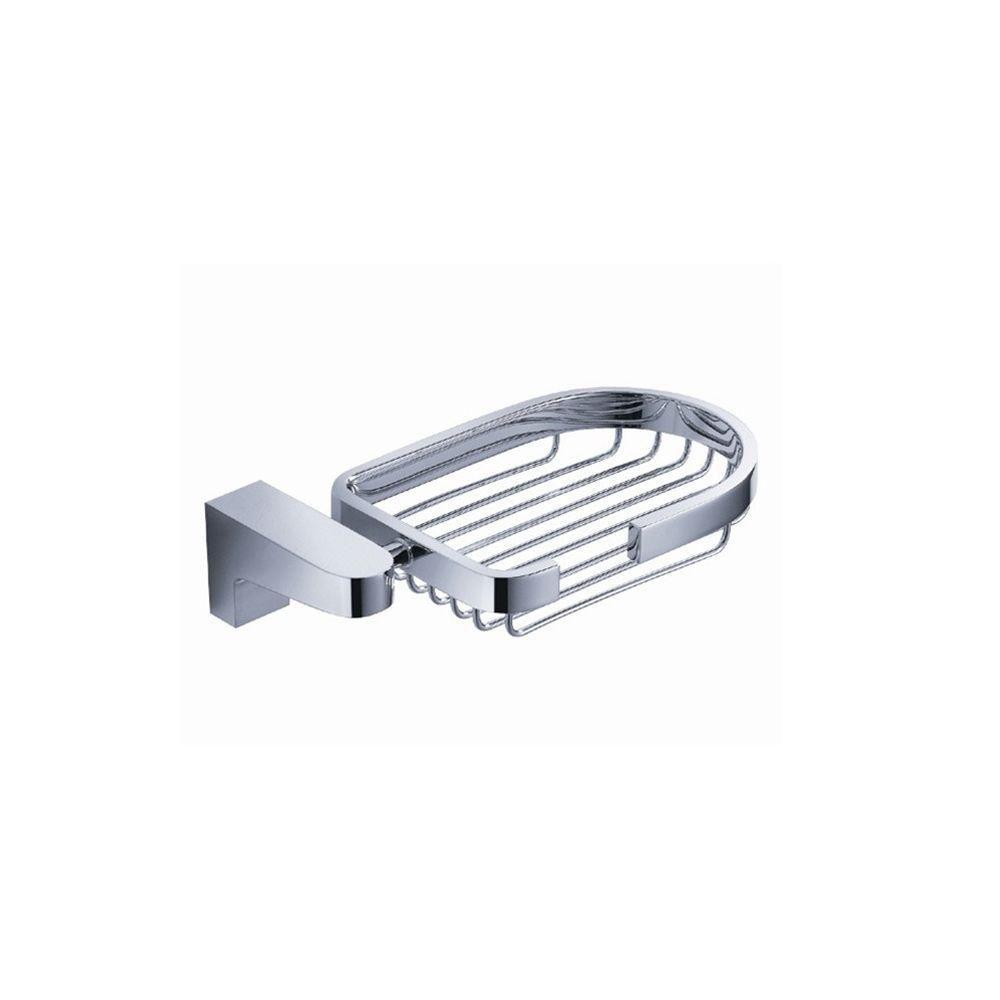 Generoso Soap Basket - Chrome