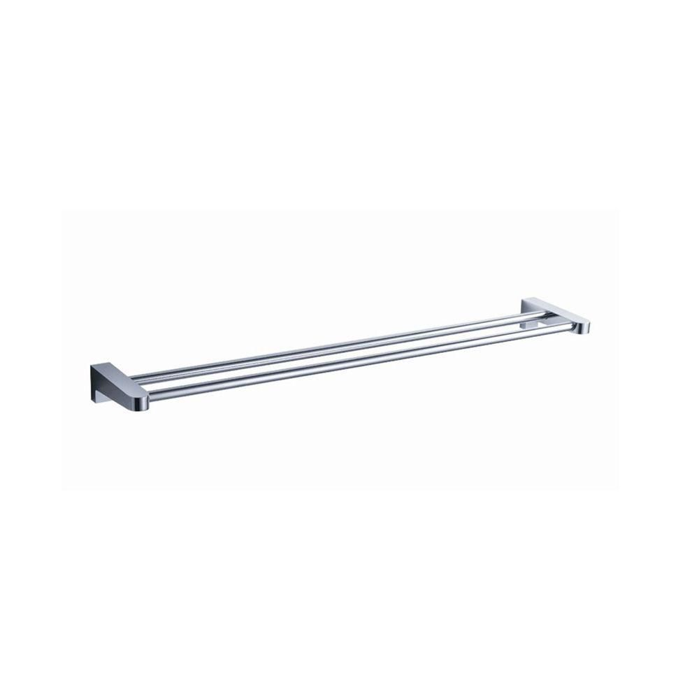 Generoso 20 Inch Double Towel Bar - Chrome