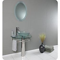 Fresca Attrazione 28.75-inch W Vanity in Grey
