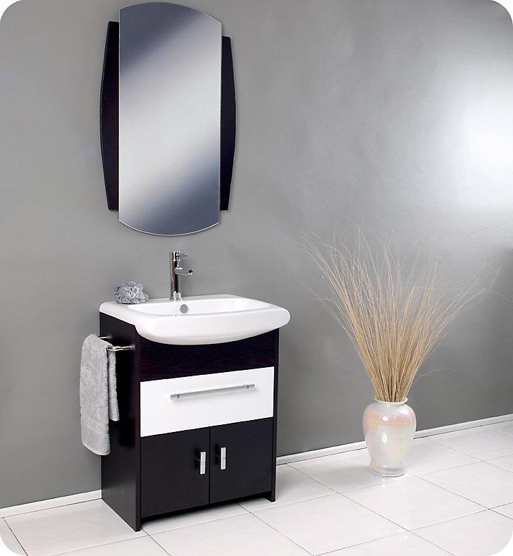 Distinto 27-inch W Freestanding Vanity in Beige Tan